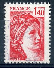 STAMP / TIMBRE FRANCE OBLITERE N° 2102  TYPE SABINE