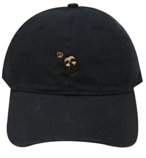 Cotton Baseball Black Caps