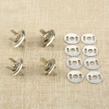 10 Sets 16mm/18mm Magnetic Buttons Press Buckles Slim Snaps Sewing Parts