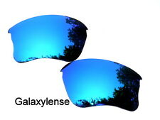 Replacement Lenses For Oakley Flak Jacket XLJ Sunglasses Ice Blue Polarized