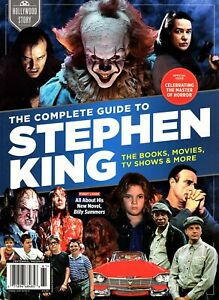 Hollywood Story THE COMPLETE GUIDE TO STEPHEN KING ~Books ~Movies ~TV Shows ~NEW