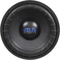 """HIFONICS ZRX-15D2 ZEUS Woofer 38 cm (15"""") Subwoofer 1500 W/RMS, 3000 W/MAX,"""
