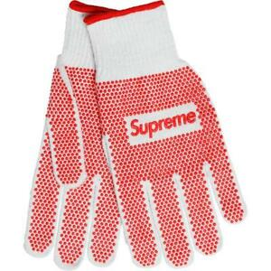 Supreme Grip Work Gloves SS18 TNF CDG Nike Stone Island Ludens Chopsticks Domino