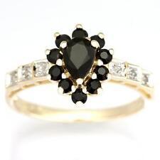 Handmade Cluster Sapphire Fine Rings