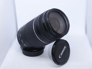 Canon EF 75-300mm F4-5.6 Autofocus Zoom Lens MK III Caps ExC