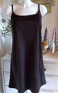 Cream  Träger- Kleid  Unterkleid  Anthrazit  size: 44  Neu