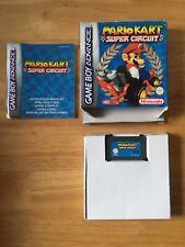 Mario Kart Super Circuit Gameboy Advance