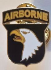 US ARMY 101st Airborne Eagle Pin Double Post