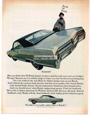 1965 Buick Le Sabre Automobile Car 1964 Vtg Print Ad
