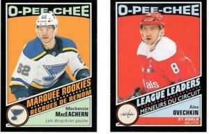 2019-20 O-PEE-CHEE BLACK BORDER PARALLEL RETRO YOU PICK FREE COMBINED SHIPPING