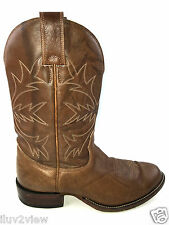 Alberta Men's  Western Cowboy Boots Brown Size 8..5 USA.