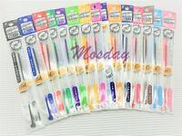 15 Colors Set Pilot Hi-Tec-C Coleto RollerBall Pen 0.4mm Ultra Fine Refills