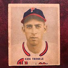 1949 Wheaties Richie Ashburn Cartoon Ad Seite ~ Philadelphia Phillies Baseball Sport