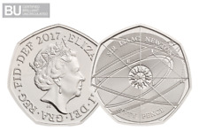 2017 UK Isaac Newton CERTIFIED BU 50p [Ref 230R]