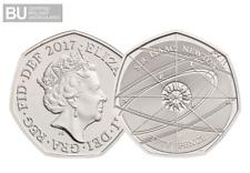 2017 UK Isaac Newton CERTIFIED BU 50p [Ref 230R]