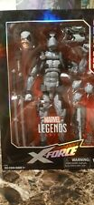 Marvel Legends Uncanny X-Force Deadpool 12 Inch Figure Gray Suit Hasbro New