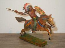 Elastolin Germany - Toy Indian on Horse *37774