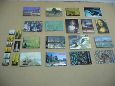 """Memory picture MAGNETS. (26) in Collection. Variety. """"refrigerator"""""""
