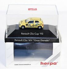 Herpa 100588, Renault Clio Cup `93, 1:87, in Box, 035835        #ab1504