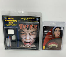 Halloween Vampire Makeup Kit + Vampire Teeth Fangs