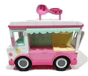 Num Noms Lip Gloss Ice Cream Truck Playset Kids Girl Pink Toy