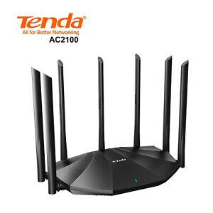 Tenda AC2100 AC23 Dual Band 2033Mbps Gigabit WiFi Wireless Router Extender