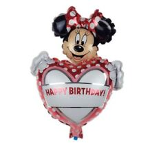 Minnie Mouse Birthay Party Foil Helium Balloons Supplies Baby Pink Girl H 1