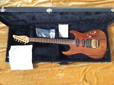 Tom Anderson Guitarworks Rare Grand Am 1991 Clear Koa,Maple Pau Ferro-Case VGC!