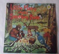 "Little Marcy Visits Smokey The Bear Album Record Word Wonder World Series LP 12"""