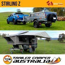 Ezytrail Stirling Z Mk2 Off Road Camper Trailer Forward Fold