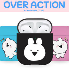 Genuine Over action Rabbit Bopeep AirPods Hard Case 1st 2nd Generation Korea