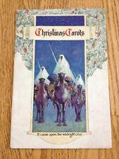 Vtg 1950s? Giveaway Christmas Carols Booklet Coy Kendall Greenhouse Michigan Ad
