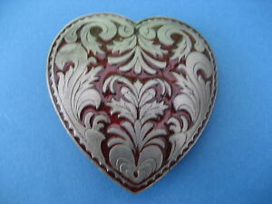 HEART   BELT BUCKLE (BK184)
