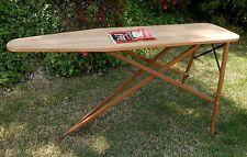 Antique 1920's J.R. Clark Rid-Jid Regular Wood Ironing Board Folding Table / USA