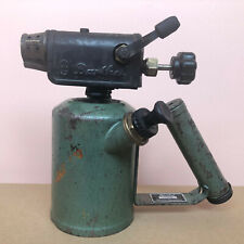 Old German Burner Blowtorch GUSTAV BARTHEL Dresden Petrol Lamp / Lötbrenner GDR