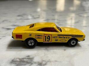 Vintage 1971 Matchbox Lesney Superfast Hot Smoker Dodge Dragster