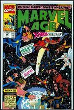 Marvel Comics MARVEL AGE #94 X-Men Hulk NM 9.4