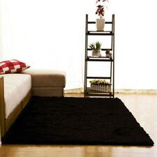 Fluffy Rugs Anti-Skid Shag Area Rug Dining Room Bedroom Carpet Floor Mat -bh