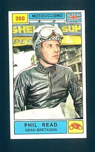Figurina Campioni dello Sport 1969-70! N.260 Read! Motociclismo! Nuova!!