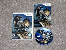 Monster Hunter Tri Nintendo Wii Complete