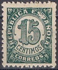 [CF7124] España 1938, Cifras, 15c (MNH)