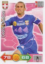 CEDRIC CAMBON # EVIAN THONON GAILLARD.FC ETG CARD PANINI ADRENALYN 2012