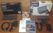 Sharp Hc-4500 Mobilon Color Handheld Pc Bundled with Docking Station - As Is