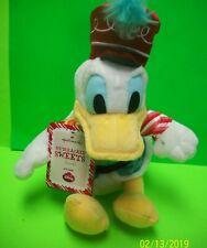 Hallmark Disney Christmas Nutcracker Sweets Donald Duck Plush Doll W Sound NWT