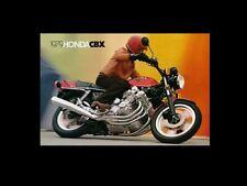 HONDA CBX1000Z VINTAGE MOTORCYCLE MOTORBIKE POSTER BROCHURE ADVERT A3