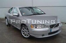 For Volvo S60 Front Bumper R Style Lip spoiler Valance splitter Chin Skirt s 60