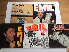 Emil Steinberger [5x Vinyl LP] E wie + träumt + die 2(te) + improvisierte + EMIL