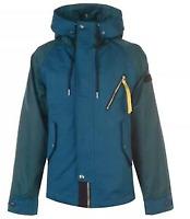 Diesel ryota jacket Mens Large Green Yellow Zip  *REF57