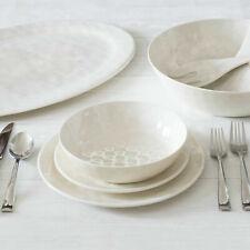 Better Homes & Gardens Outdoor Melamine White Anda Dinnerware Set, 12 Piece