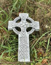 Grabschmuck Grabstein keltisches Kreuz wetterfest frostfest Grabkreuz keltisch